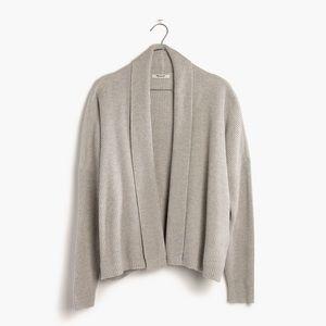 Madewell Horizontide Ribbed Cardigan Sweater
